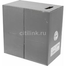 Кабель информ. Molex (CAA-00184) кат.5е U/UTP 4X2X24AWG PVC внутр. 305м сер.