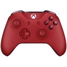 Геймпад Беспроводной MICROSOFT WL3-00028, для Xbox One, красный