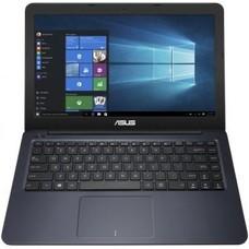 "Ноутбук ASUS VivoBook F402WA-GA072T, 14"", AMD E2 6110 1.5ГГц, 2Гб, 32Гб SSD, AMD Radeon R2, Windows 10, 90NB0HC3-M02650, темно-синий"