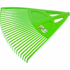 Грабли веерные пластиковые, 27 зубьев, зеленые Palisad [61709]