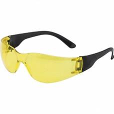 Очки защитные открытые, поликарбонатные, желтые ОЧК202 (0-13022)