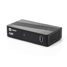 Ресивер DVB-T2 HARPER HDT2-1202, черный