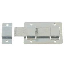 Задвижка дверная ЗД-02, цинк, (Металлист)