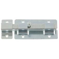 Задвижка дверная ЗД-06, цинк, (Металлист)