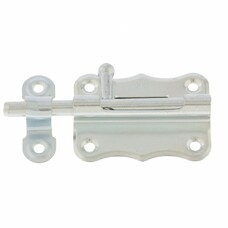 Задвижка накладная ЗТ-2-60, цинк, 5 шт, (Металлист)