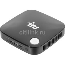 Неттоп IRU 317, Intel Celeron J3160, DDR3L 2Гб, 500Гб, Intel HD Graphics 400, CR, Windows 10 Home, черный [1057500]