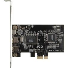 Контроллер PCI-E VIA6307 1xIEEE1394(4p) 2xIEEE1394(6p) Ret [asia pcie 1394a 2 port]