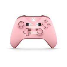 Геймпад Беспроводной MICROSOFT MINECRAFT PIG, для Xbox One, розовый [wl3-00053]