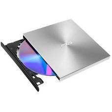 Оптический привод DVD-RW ASUS SDRW-08U9M-U, внешний, USB, серебристый, Ret [sdrw-08u9m-u/sil/g/as]