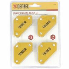 Набор из 4 магнитных фиксаторов для сварочных работ Denzel [97555]