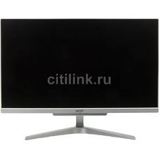Моноблок ACER Aspire C22-860, Intel Pentium 4405U, 4Гб, 1000Гб, Intel HD Graphics 510, Windows 10, серебристый [dq.baver.002]