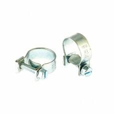 Хомуты металлические, MINI 16-18 мм, ширина 9 мм, винтовой, W1, 2 шт СибрТех [47506]