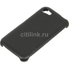 Чехол skinBOX Leather Shield, для Digma Z400 3G CITI, черный [t-s-dz400-009]