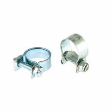 Хомуты металлические, MINI 14-16 мм, ширина 9 мм, винтовой, W1, 2 шт СибрТех [47505]