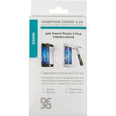 Защитное стекло для экрана DF xiColor-23 для Xiaomi Redmi 5 Plus, 1 шт, черный [df xicolor-23 (black)]