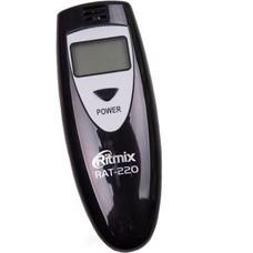 Алкотестер Ritmix RAT-220 полупроводниковый черный