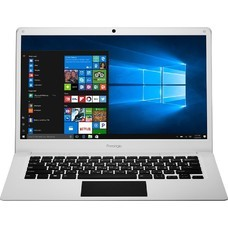 "Ноутбук PRESTIGIO SmartBook 141C, 14.1"", Intel Atom X5 Z8350 1.44ГГц, 2Гб, 32Гб SSD, Intel HD Graphics 400, Windows 10 Home, PSB141C01BFH_WH_CIS, белый"