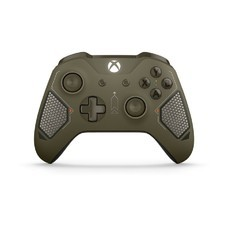 Геймпад Беспроводной MICROSOFT Combat Tech Special Edition, для Xbox One, темно-зеленый [wl3-00090]