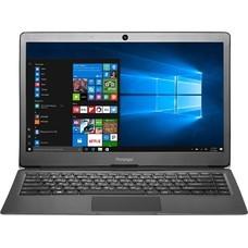 "Ноутбук PRESTIGIO SmartBook 133S, 13.3"", Intel Celeron N3350 1.1ГГц, 3Гб, 32Гб SSD, Intel HD Graphics 500, Windows 10 Home, PSB133S01ZFH_DG_CIS, темно-серый"