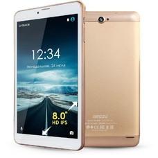 Планшет GINZZU GT-8105, 1GB, 8GB, 3G, Android 6.0 золотистый [00-00001032]