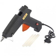 Клеевой пистолет с выкл. 12 мм в кейсе, 100 Вт, 8 г./мин. // Sparta [93034]