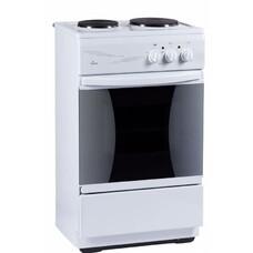 Электрическая плита FLAMA CE 3201 W, эмаль, белый