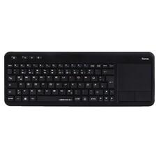 Клавиатура HAMA R1173091, USB, Радиоканал, черный