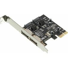Контроллер PCI-E ASM1061 SATA III 2xSATA Ret [asia pcie sataiii 2 port]