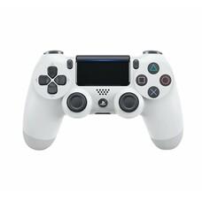 Геймпад Беспроводной SONY Dualshock 4 V2 (CUH-ZCT2E), для PlayStation 4, белый [ps719894759]