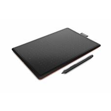 Графический планшет WACOM One CTL-472 А6 черный [ctl-472-n]