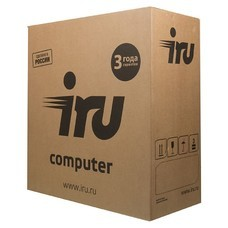 Компьютер IRU Office 110, Intel Celeron J1800, DDR3 4Гб, 500Гб, Intel HD Graphics, Free DOS, черный [1005564]
