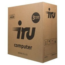 Компьютер IRU Office 110, Intel Celeron J3355, DDR3 4Гб, 500Гб, Intel HD Graphics 500, Free DOS, черный [1005576]