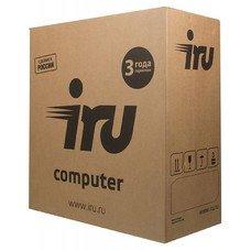 Компьютер IRU Office 313, Intel Core i3 7100, DDR4 8Гб, 1000Гб, Intel HD Graphics 630, Free DOS, черный [1005801]