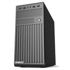 Корпус Accord ACC-B202 черный без БП ATX 2xUSB2.0 2xUSB3.0 audio