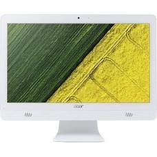 Моноблок ACER Aspire C20-720, Intel Celeron J3060, 4Гб, 500Гб, Intel HD Graphics 400, Free DOS, белый [dq.b6xer.014]