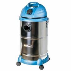 Строительный пылесос BORT BSS-1530N-Pro серебристый [91271242]