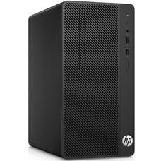 Комплект HP 290 G1, Intel Celeron 3900, DDR4 4Гб, 500Гб, Intel HD Graphics 510, DVD-RW, CR, Windows 10 Home, черный [3ec03es]