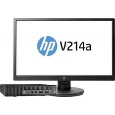 Компьютер HP 260 G2, Intel Celeron 3855U, DDR4 4Гб, 500Гб, Intel HD Graphics 510, Windows 10 Home, черный [3eb89es]