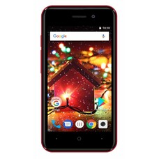 Смартфон DIGMA Q401 3G HIT, красный [HT4023PG]