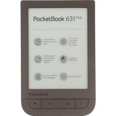 """Электронная книга POCKETBOOK 631 Plus, 6"""", темно-коричневый"""