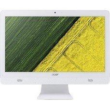 Моноблок ACER Aspire C20-720, Intel Pentium J3710, 4Гб, 500Гб, Intel HD Graphics 405, DVD-RW, Windows 10, белый [dq.b6zer.008]