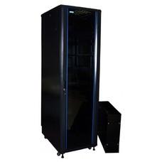 Шкаф серверный Lanmaster TWT-CBA-18U-6X8-00 18U 600x800мм 2 бок.пан. 800кг черный
