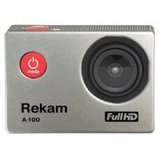 Экшн-камера REKAM A100 1080p, серебристый [2680000008]