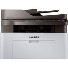 МФУ лазерный SAMSUNG SL-M2070, A4, лазерный, белый [ss293b]