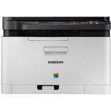 МФУ лазерный SAMSUNG SL-C480, A4, цветной, лазерный, серый [ss254e]