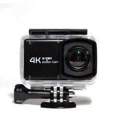 Экшн-камера X-TRY XTC440 4K, WiFi, черный