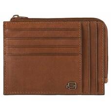 Чехол для кредитных карт Piquadro Black Square PU1243B3R/CU светло-коричневый натур.кожа