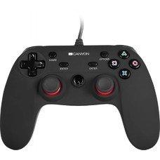 Проводной контроллер CANYON CND-GP5, для PlayStation 4/PC, черный, 3м