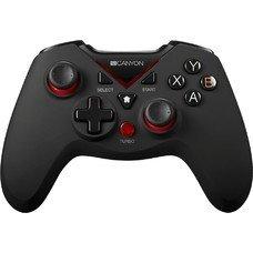 Геймпад Беспроводной CANYON CND-GPW7, для PlayStation 3/Xbox 360/Android/PC, черный