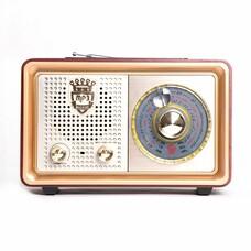 Радиоприемник СИГНАЛ БЗРП РП-324, коричневый